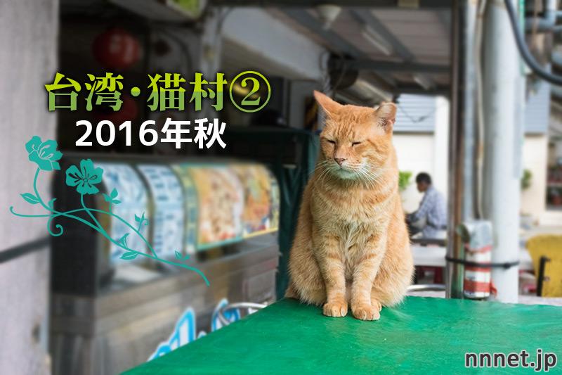 猫村で、自由に暮らす猫たち~【連載】台湾・猫村を旅する②2016年秋~