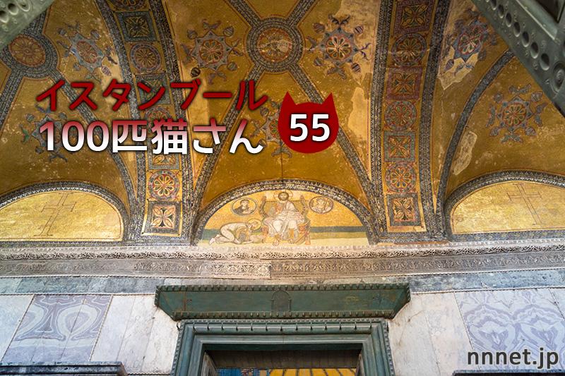 アヤソフィア博物館のグリさん【連載】イスタンブールの100匹猫さん 55匹目
